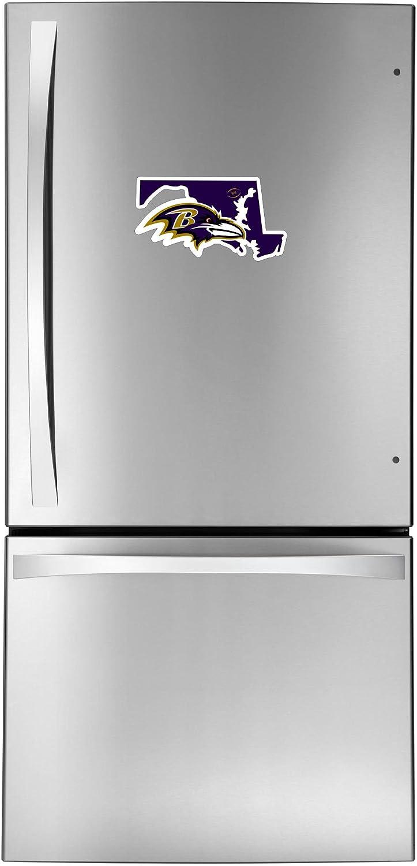 NFL Siskiyou Sports Fan Shop Baltimore Ravens Home State 11 Inch Magnet One Size Team Color