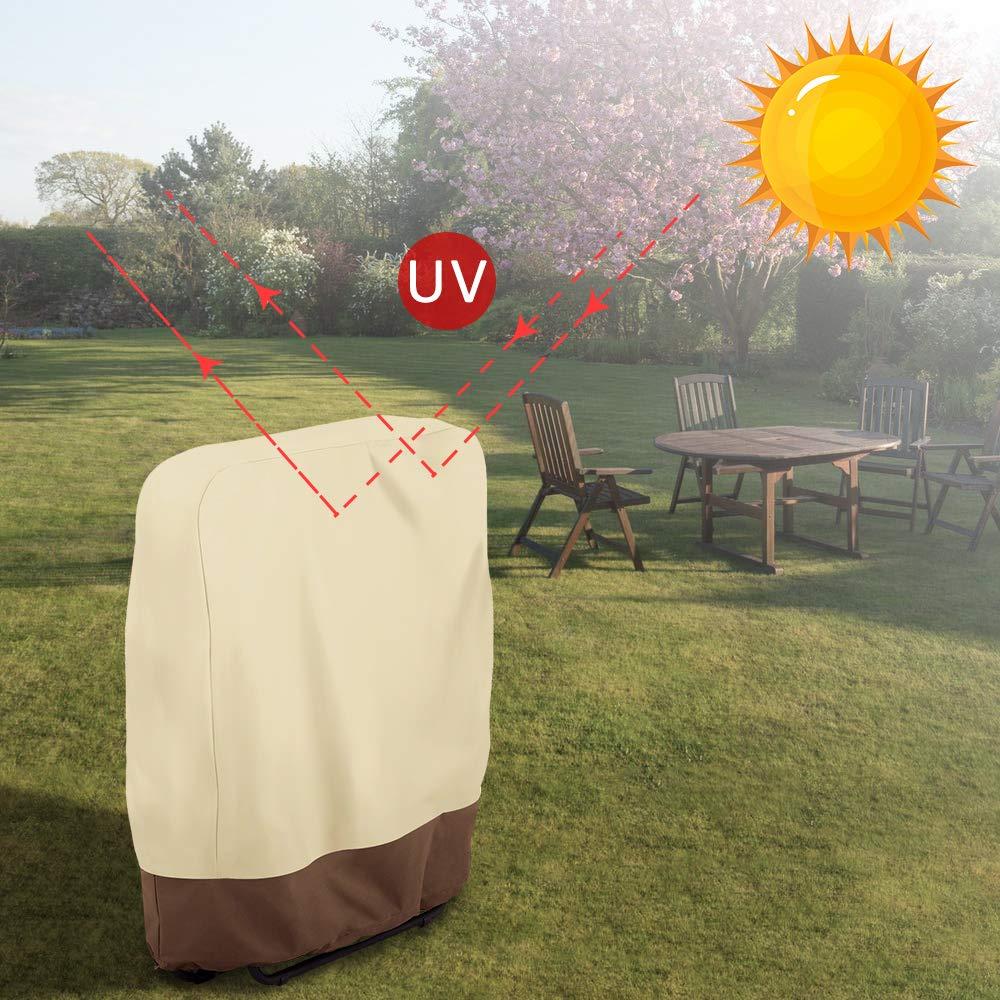 wasserdicht willstar Zero Gravity Klappstuhlabdeckung Bezug 37 x 32 cm 1PC staubdicht f/ür den Au/ßenbereich UV-best/ändig Klappst/ühle