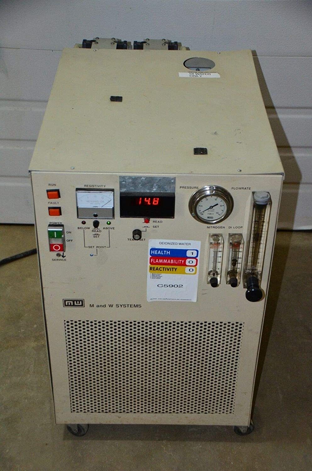 labtechsales M & W Flowrite Recirculating Cooling System RPCX 17A-D-DI2x10-LI-CMIITESTED