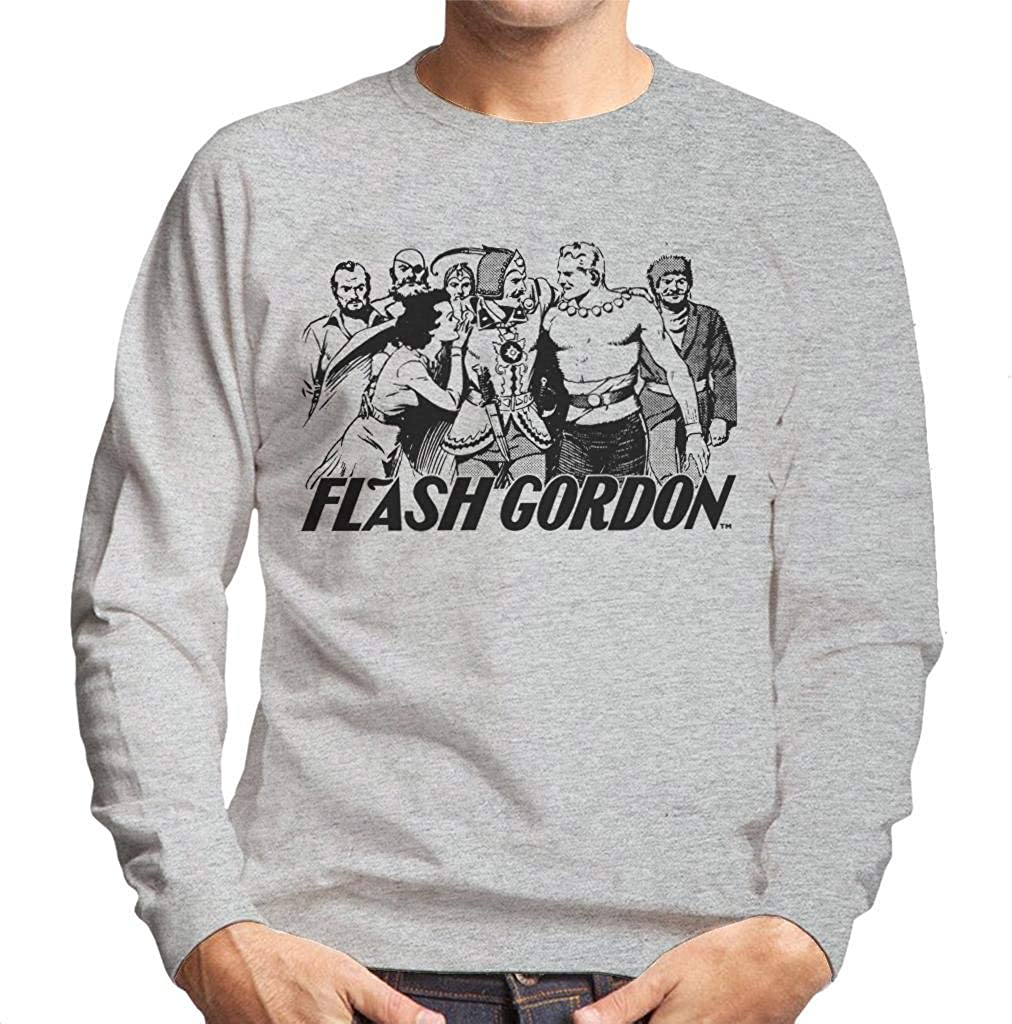 Comics Kingdom Flash Gordon Group Mens Sweatshirt