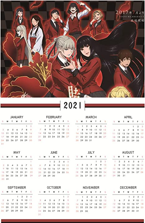 "Anime Wall Calendar 2021 DARLING IN THE FRANXX Manga Art A3-8189 12 pg 8/""x11/"""