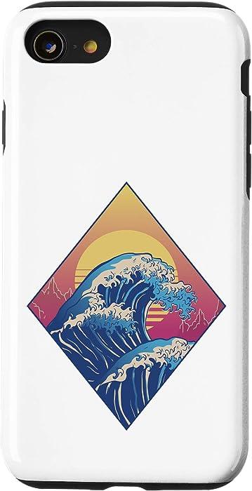 iPhone SE (2020) / 7 / 8 Great Wave Japanese Retro Case