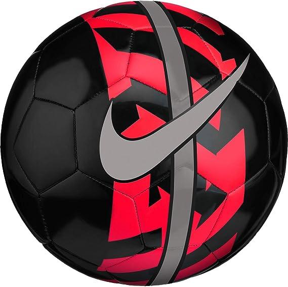 Nike NK React Balón de fútbol, Adultos Unisex, Black/Bright ...