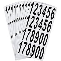 LUTER Nummers Stickers Waterdicht Zelfklevende Stickers voor Brievenbus, Huis, Deur, Adresnummer, Binnen of Buiten (7,5…