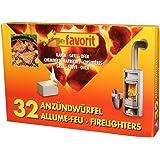 Allume feu 32 cub barbecue cheminee 1250