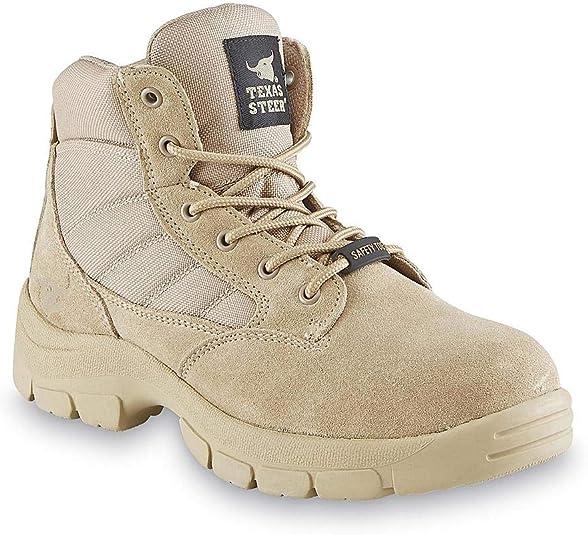Kyser2 Sand Steel Toe Tan Work Boot