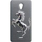 100 Degree Celsius Back Cover for Micromax Unite 2 A106 (Horse Printed)