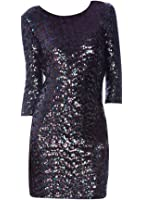 BB Dakota Women's Villette Sequin Dress