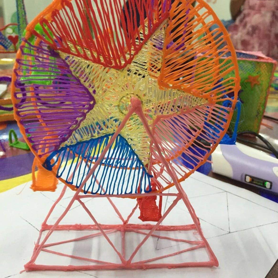 Bambini di formato A4 che disegnano la muffa di carta del piatto della copia 3D per il disegno a penna di stampa 3D