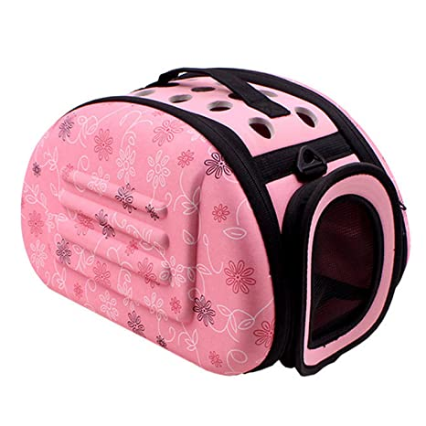 Transportin gato, bolsas perro, Viaje al aire libre Portátil Plegable Lindo Suave Pet Carrier