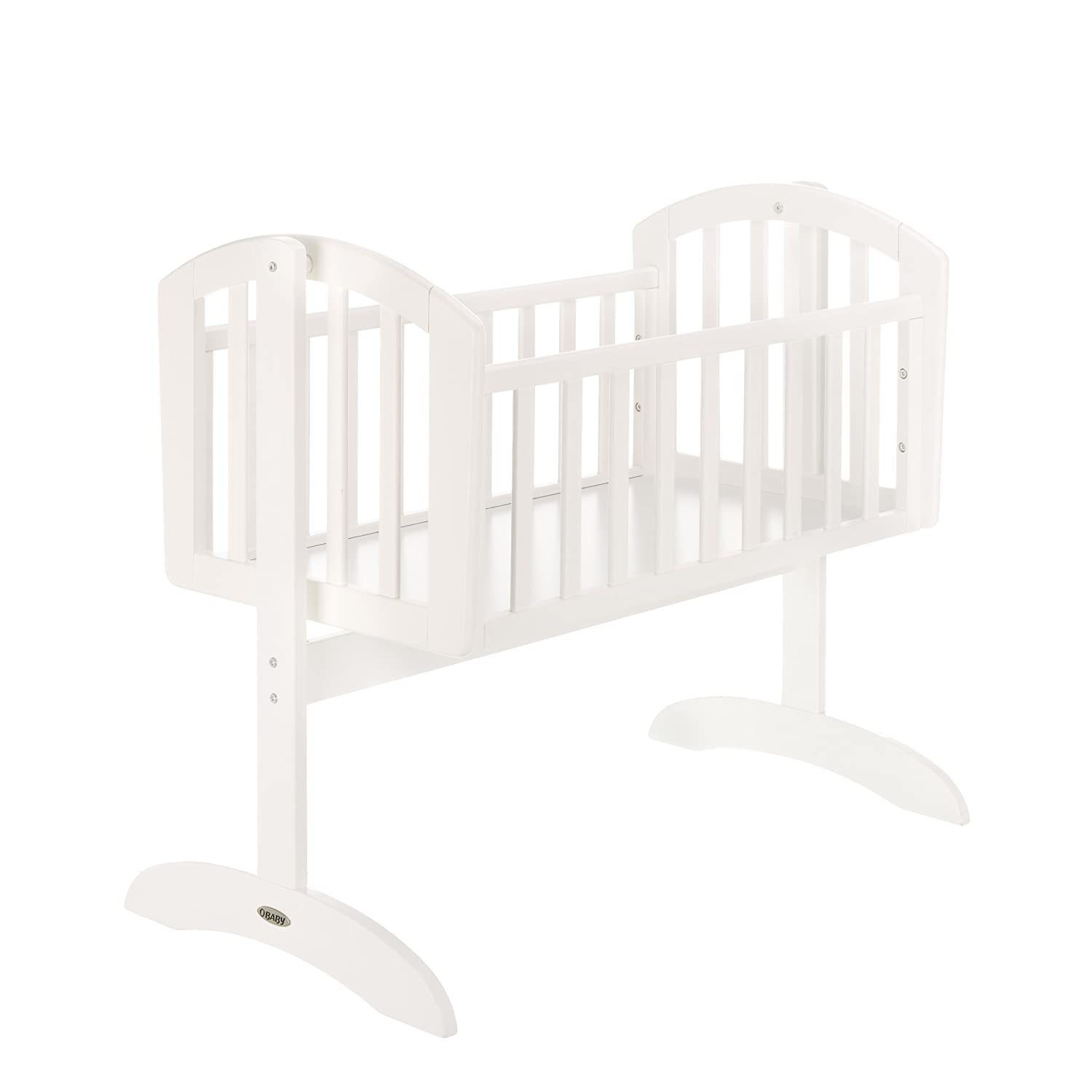 Obaby Sophie Swinging Crib - Walnut 22OB0105