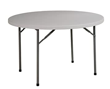 Office Star Resin Multi Purpose Table, 4 Feet Round