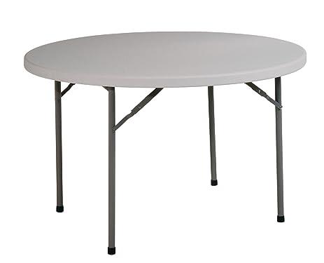 Office Star Resin Multi-Purpose Table, 4-Feet Round