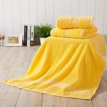Kaxima Las toallas de playa para aumentar más gruesa toalla de algodón Toalla de playa 140x70cm 2 piezas: Amazon.es: Hogar