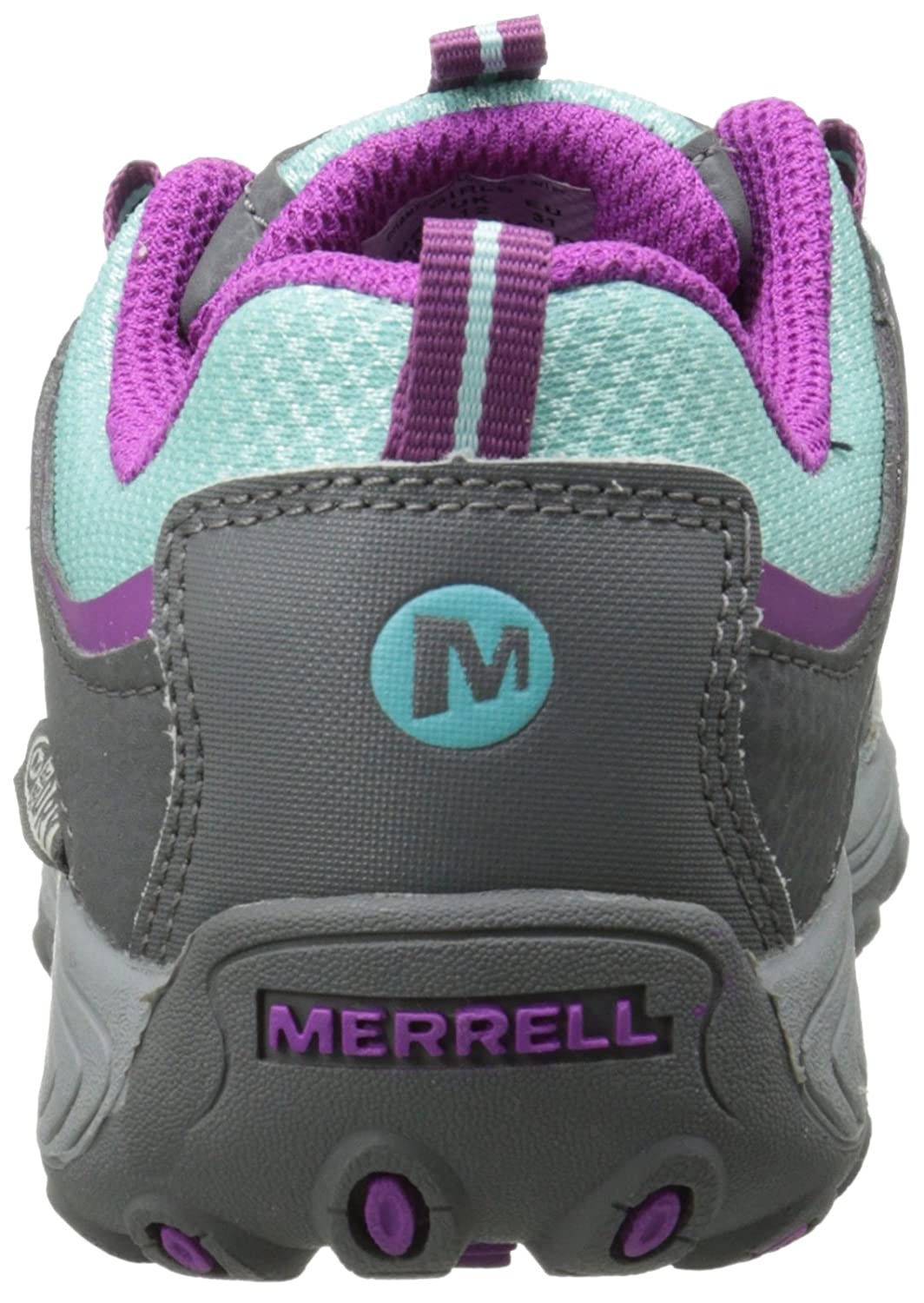24f85478eb Merrell Unisex Kids' Chameleon Lace Waterproof Low Rise Hiking Shoes:  Amazon.co.uk: Shoes & Bags