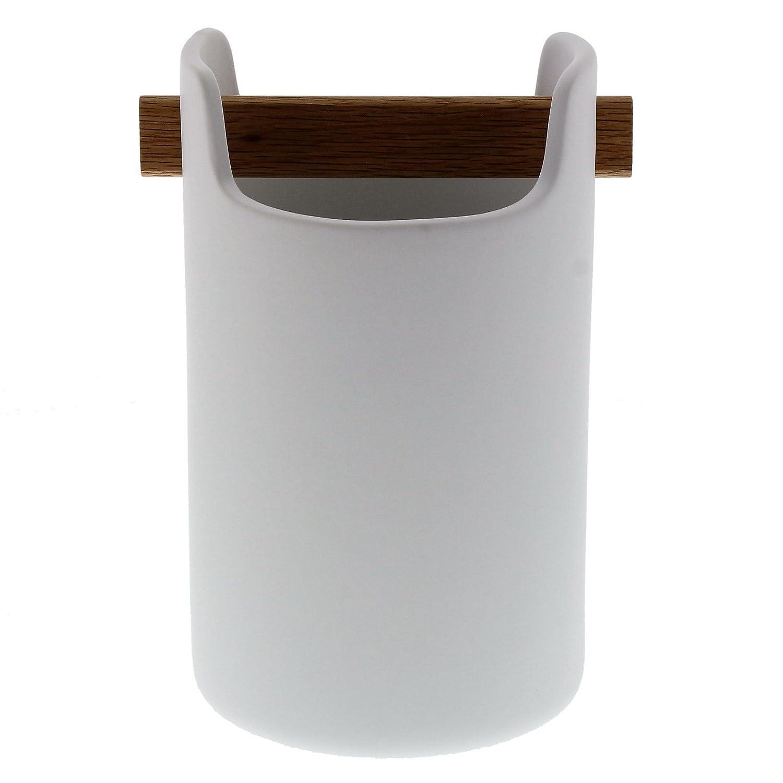 EvaSolo Portamestoli Bianco 22,1 x 16,5 x 13 cm Ceramica