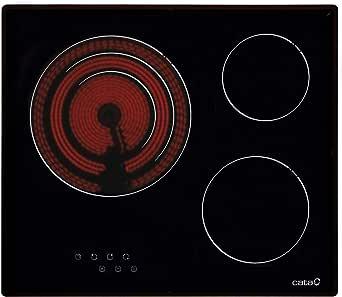 CATA TT 603 Placa Vitrocerámica, 2700 W, Cerámica, Negro: 153.66: Amazon.es: Grandes electrodomésticos