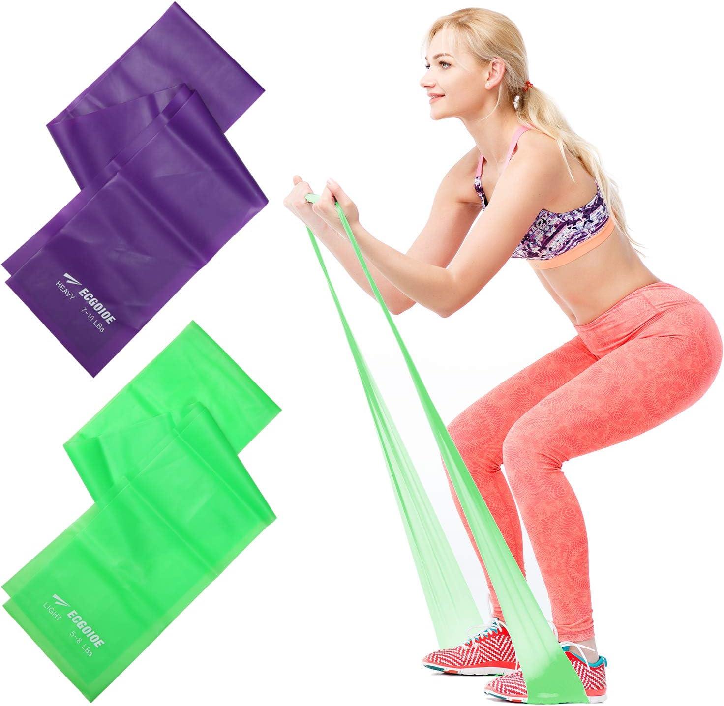 Strong Resistance Tube Band Set Yoga Sports Gym Home Exercise Workout-Orange