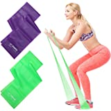 Osa Exercise Band, Long Resistance Bands, Sport Yoga Elastic Bands Natural Latex Elastic Exercise Equipment for Physical Ther