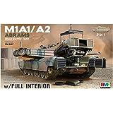 ライフィールド 1/35 アメリカ軍 M1A1/A2 エイブラムス with フルインテリア 2in1 プラモデル RFM5007