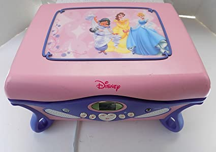 Amazoncom Disney Princess Cd Player with Jewerly Box Mirror and