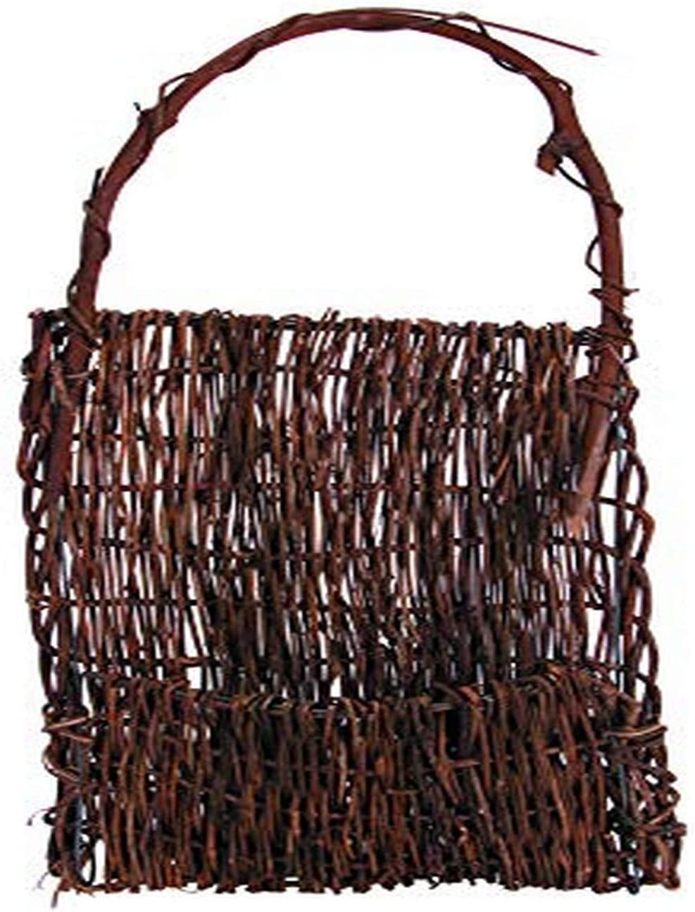 CWI Gifts Vine Pocket Basket, 20-Inch Party Supplies, Brown