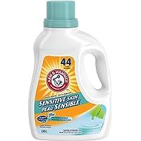 ARM & HAMMER Liquid Laundry Detergent for Sensitive Skin, 44 Loads, 2.03-L