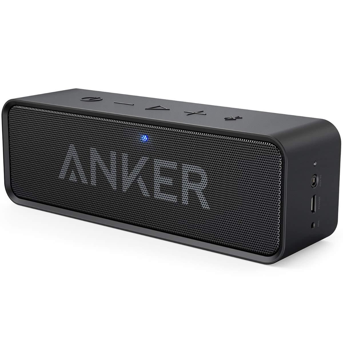 Anker Altoparlante Bluetooth SoundCore-Speaker Portatile Senza Fili con  Microfono Incorporato e Doppia Cassa 23e52da9f320