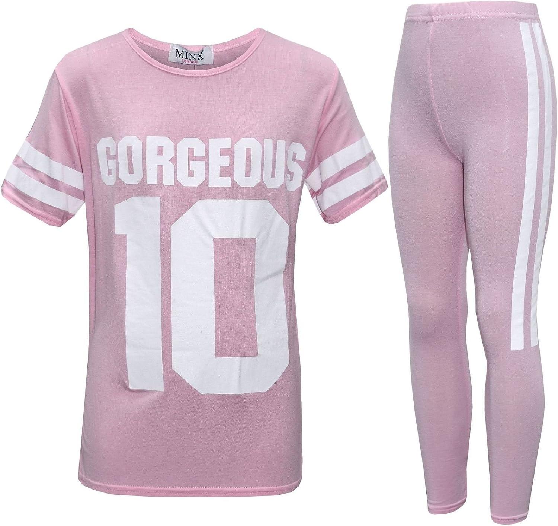 AHR - Chándal - universidad - para niña rosa rosa pastel 9-10 Años ...