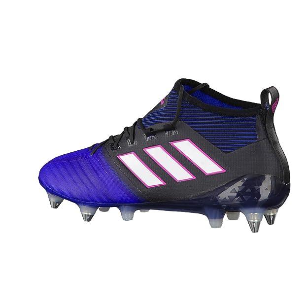 Adidas 17,1 Ace Primeknit Sg, Pour Les Chaussures De Formation De Football Pour Les Hommes, Noir (negbas / Ftwbla / Bleu), 45 1/3 Ue