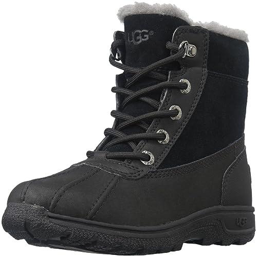 84f314c810e UGG Kids K LEGGERO Lace-Up Boots