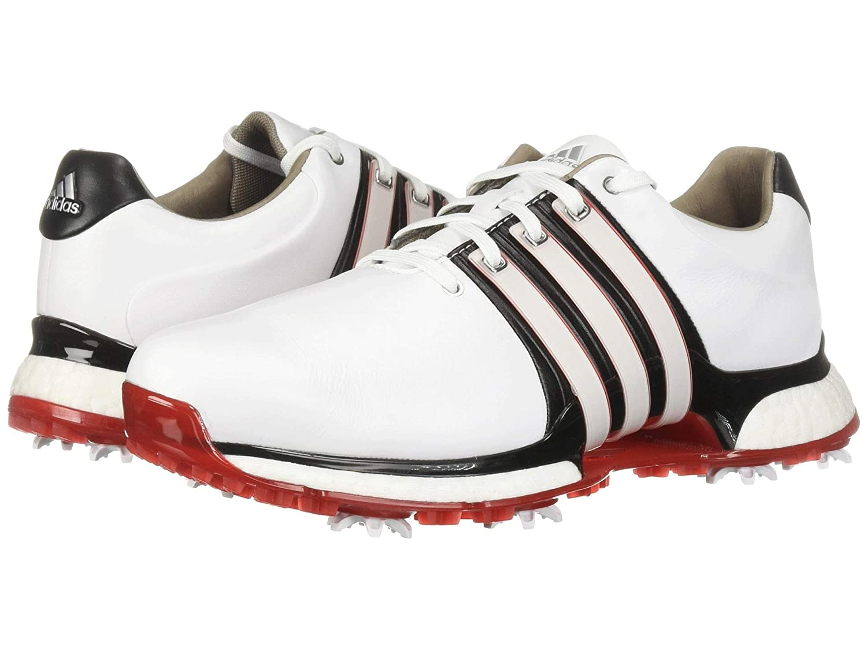 31.0 White/Core B07P9TJRCK cm [並行輸入品] Footwear Black/Scarlet メンズゴルフシューズ靴 XT [アディダス] Tour360