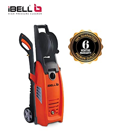 iBELL 1800-Watt Induction Motor Home and Car Pressure Washer (Black & Orange)