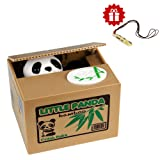 Amazon Price History for:Money Box HmiL-U Automatic Stealing Coins Cents Penn Piggy Bank Christmas/Birthday Gift for Kids With A Free Ceramic Whistle (Panda)