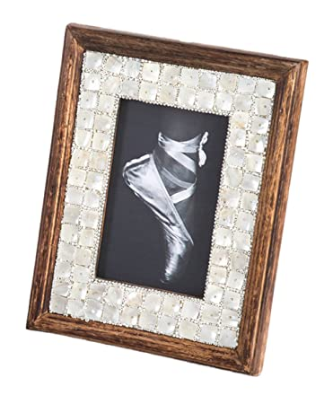 Photo Frame Styles Mother Wood Of Pearl Fennco TK1cFJl