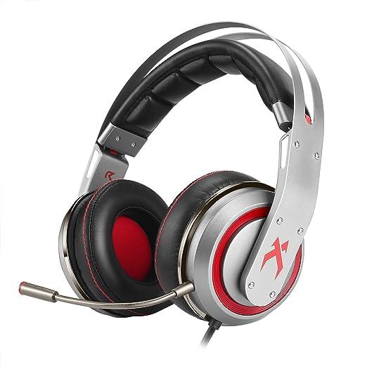 18 opinioni per Cuffie da Gaming XIBERIA T19 con Surround On-ear con Microfono Staccabile per