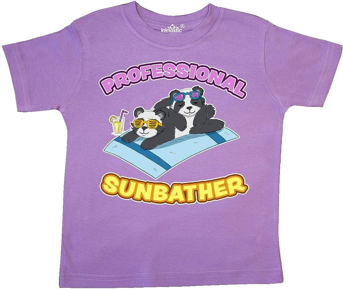 inktastic Cute Baby Pandas Professional Sunbather Toddler T-Shirt