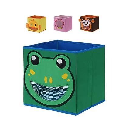 Juego de 4 cajas para almacenar, caja para guardar, caja para estantería, almacenaje