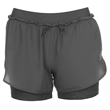 283eb0aa7 Karrimor Womens X 2 in 1 Running Shorts Pants Trousers Bottoms ...