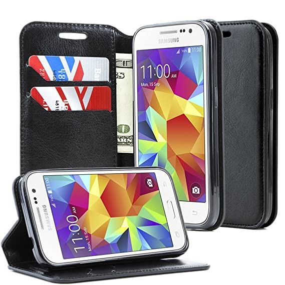 new style 68498 0fd66 Samsung Galaxy Prevail LTE Case,Samsung Galaxy Core Prime Case,NageBee  -Wallet Flip Case Pouch Cover Fold Stand case Premium Leather Wallet Flip  Case ...