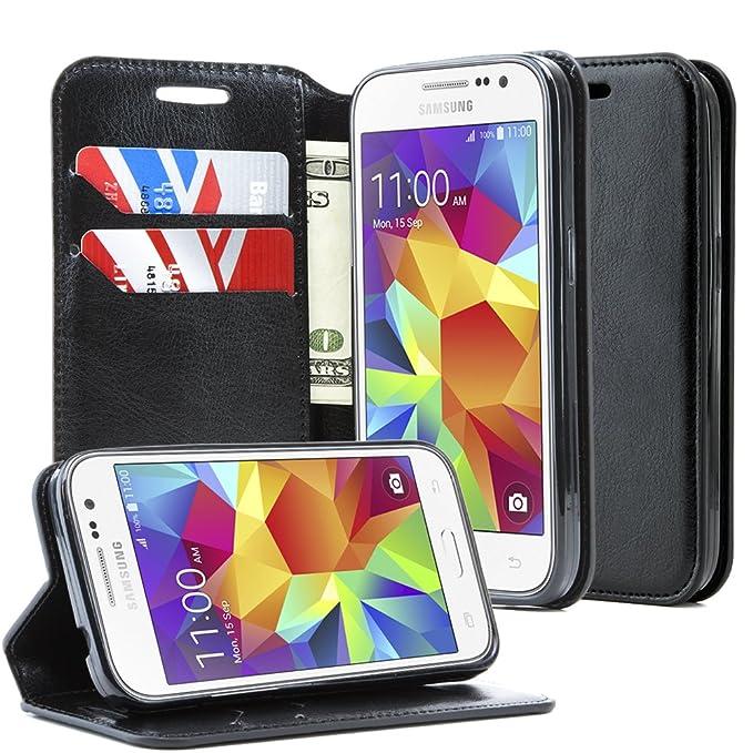 a61ff503e810 Amazon.com: Samsung Galaxy Prevail LTE Case,Samsung Galaxy Core Prime Case,NageBee  -Wallet Flip Case Pouch Cover Fold Stand case Premium Leather Wallet Flip  ...