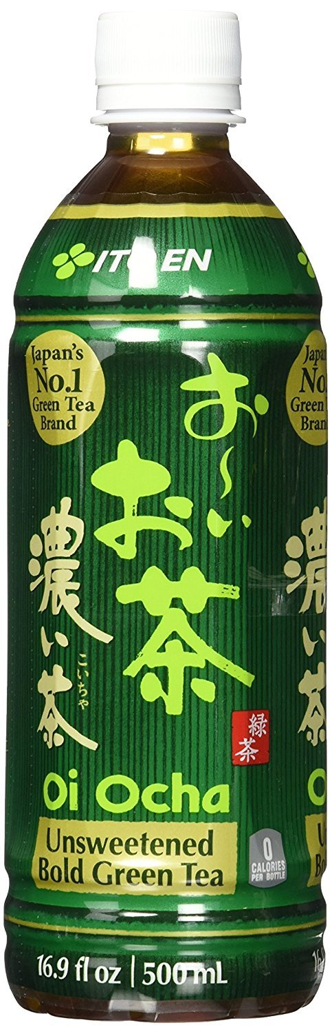 Ito En Oi Ocha unsweetened bold Green Tea, 16.9 Ounce 12 Count (Pack of 5)