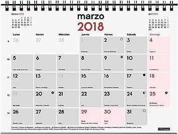 Finocam Neutro - Calendario de sobremesa para escribir 2018 ...