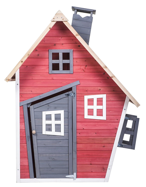 amazon com merax children u0027s wood playhouse indoor outdoor