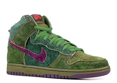 the latest 14ce3 bc38c Nike Mens Dunk High Premium SB Skunk 4 20quot Black ForestVintage Purple