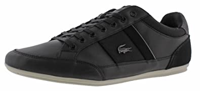 Lacoste Men's Chaymon 116 1 Black/Grey 9 ...