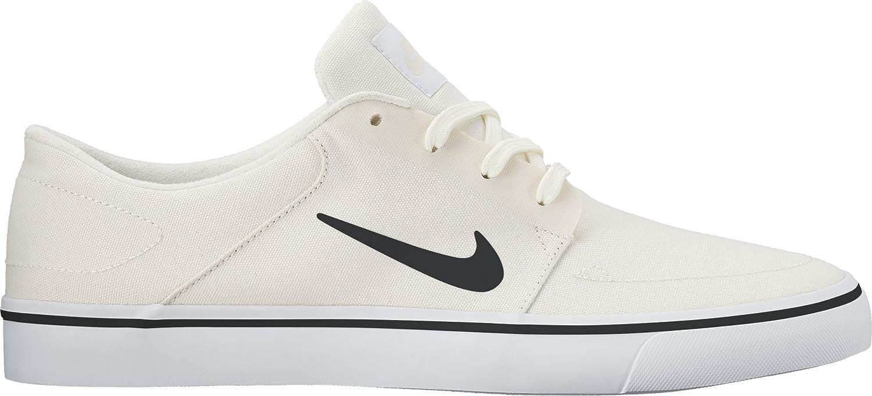 Nike Men's SB Portmore Cnvs Skate Shoe Black/Black