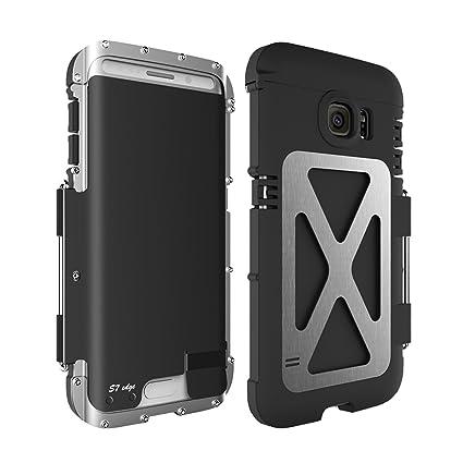Galaxy S7 Edge Étui, Samsung S7 Étui en métal bord, Iron Man en métal 4e210de6537a