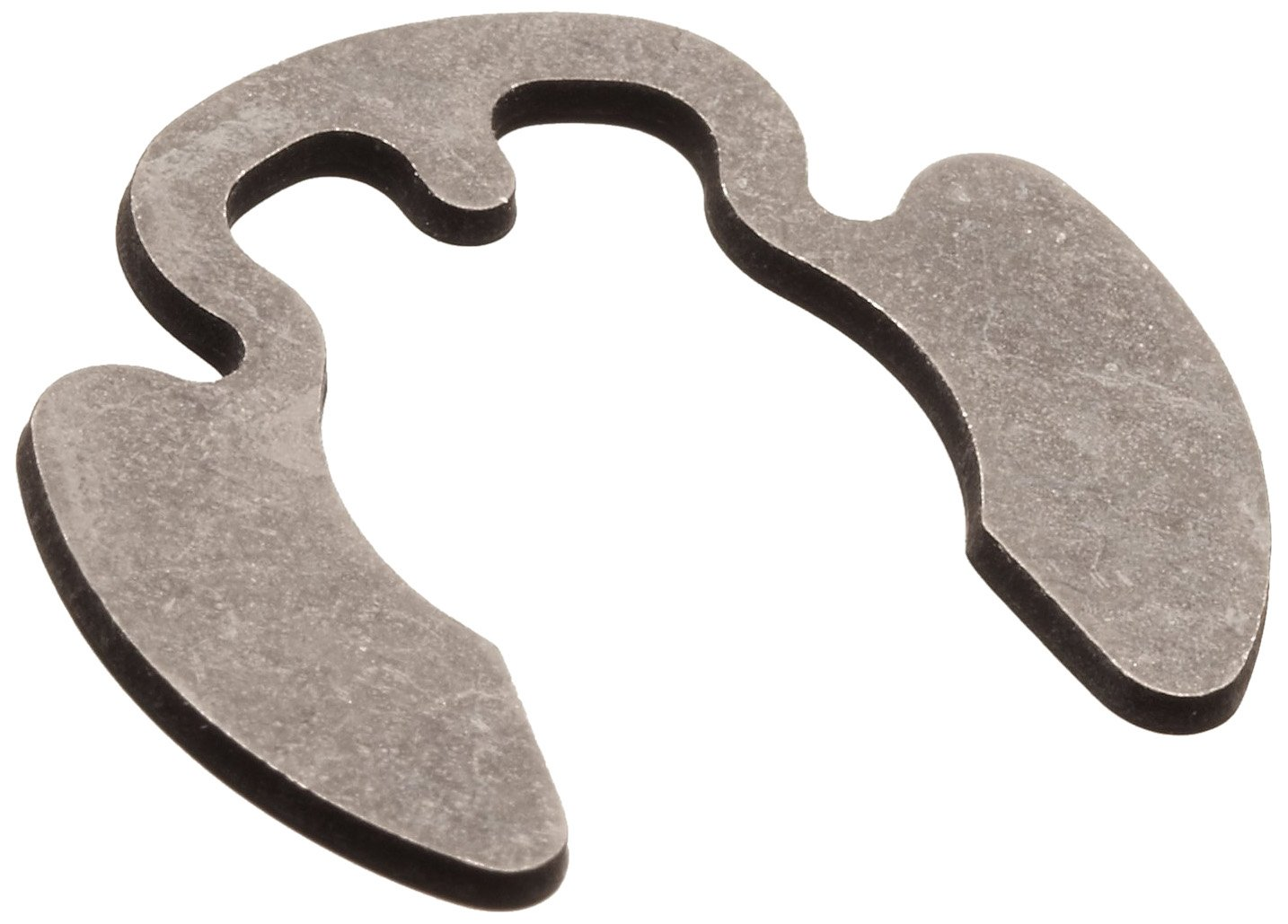Poodle External Retaining Ring, Tapered Section, Radial Assembly, 1060-1090 Carbon Steel, Phosphate Finish, 5/8'' Shaft Diameter, 0.050'' Thick, Made in US (Pack of 50)