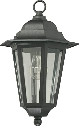 Quorum International 791-15 Hanging Lanterns with Shades, Black